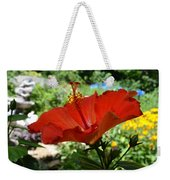 A Side Of Hibiscus Weekender Tote Bag