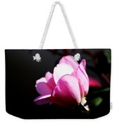 A Simple Rose Weekender Tote Bag