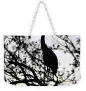 A Simple Silhouette Weekender Tote Bag