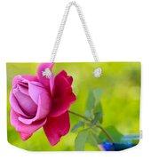 A Single Rose Weekender Tote Bag