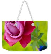 A Single Rose II Mother's Day Card Weekender Tote Bag