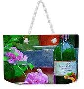 A Sip Of Wine Weekender Tote Bag by Amanda Moore