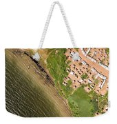 A Small Town On The Northern Shore Weekender Tote Bag