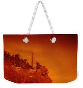 A Snag On A Cliff Weekender Tote Bag