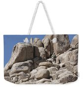 A Soldier Climbs A Mountain Weekender Tote Bag