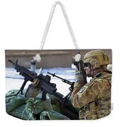 A Soldier Keeps A Close Watch Weekender Tote Bag