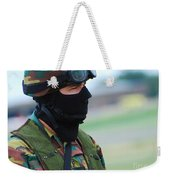 A Soldier Of The Special Forces Group Weekender Tote Bag