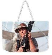A Soldier Posts Security Weekender Tote Bag