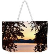 A Soothing Sunset Weekender Tote Bag
