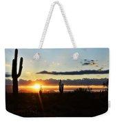 A Southwest Morning  Weekender Tote Bag