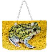 A Spadefoot Toad Weekender Tote Bag