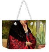 A Spanish Beauty Weekender Tote Bag by John-Bagnold Burgess