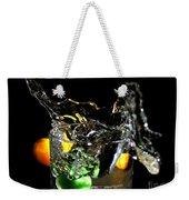 A Splash In The Glass Weekender Tote Bag
