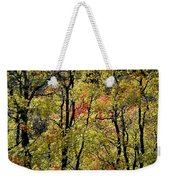 A Splash Of Fall Weekender Tote Bag