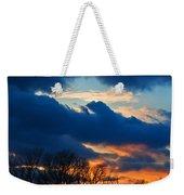 A Spring Sunset Weekender Tote Bag