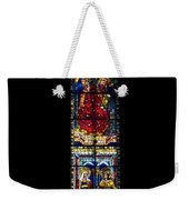 A Stained Glass Window Lit By The Day Weekender Tote Bag