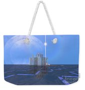 A Star Shines On Alien Architecture Weekender Tote Bag