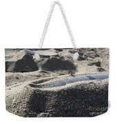 A Static Display Of An Ordnance Shell Weekender Tote Bag by Stocktrek Images