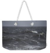 A Storm Lashed Hudsons Bay In Autumn Weekender Tote Bag