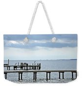 A Stormy Day On The Pamlico River Weekender Tote Bag