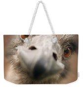 A Strange Look Weekender Tote Bag