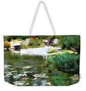 A Stroll In Peace And Tranquility Weekender Tote Bag
