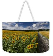 A Sunny Sunflower Day Weekender Tote Bag