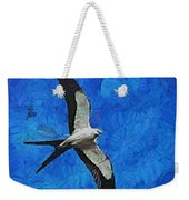A Swallow And The Moon Weekender Tote Bag