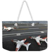 A T-45a Goshawk Makes An Arrested Weekender Tote Bag
