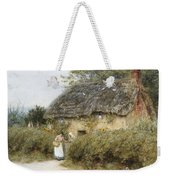 A Thatched Cottage Near Peaslake Surrey Weekender Tote Bag