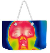 A Thermogram Of A 5 Month Old Baby Weekender Tote Bag