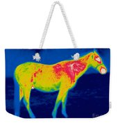 A Thermogram Of A Horse Weekender Tote Bag