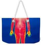A Thermogram Of A Nude Man Back Weekender Tote Bag