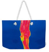 A Thermogram Of A Nude Man Profile Weekender Tote Bag