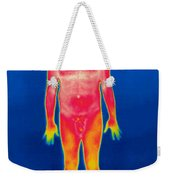 A Thermogram Of A Nude Man Weekender Tote Bag