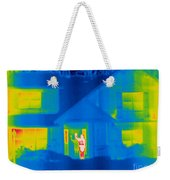 A Thermogram Of A Person Waving In House Weekender Tote Bag