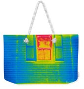 A Thermogram Of A Window Weekender Tote Bag