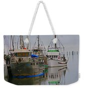 A Touch Of Blue And Green Weekender Tote Bag