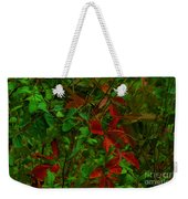 A Touch Of Christmas In Nature Weekender Tote Bag