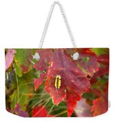 A Touch Of Yellow In Fall Weekender Tote Bag