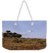 A Tow Missile Is Launched From An Weekender Tote Bag