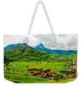 A Town On The Way Weekender Tote Bag
