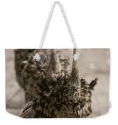A Trio Of Ostriches, Struthio Camelus Weekender Tote Bag