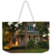 A Typical Old Cottage In Town Weekender Tote Bag
