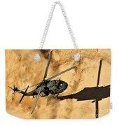 A Uh-60 Black Hawk Helicopter Comes Weekender Tote Bag