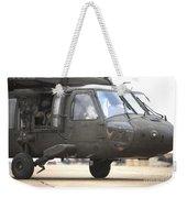 A Uh-60 Black Hawk Taxis Weekender Tote Bag