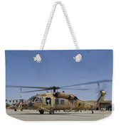 A Uh-60 Black Hawk Yanshuf Weekender Tote Bag