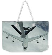 A U.s. Air Force E-3 Sentry Moves Weekender Tote Bag