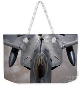 A U.s. Air Force F-22 Raptor Weekender Tote Bag by Stocktrek Images