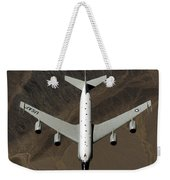 A U.s. Air Force Rc-135 Rivet Joint Weekender Tote Bag